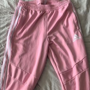 Pink Adidas Trackpants